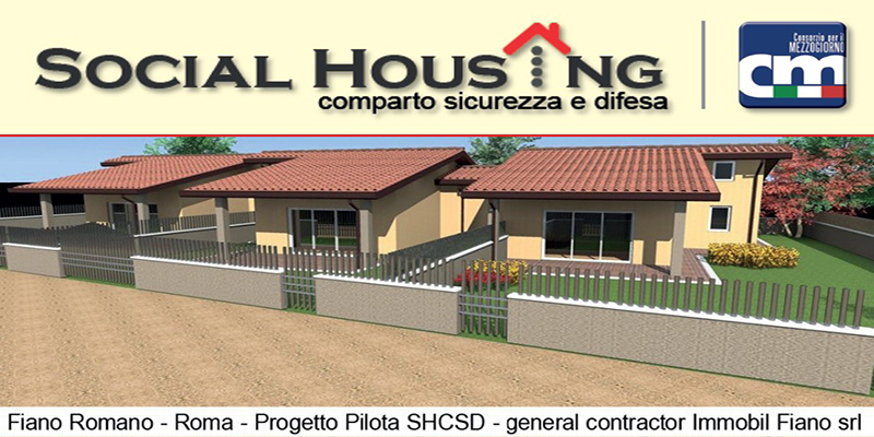 Social Housing Comparto Sicurezza e Difesa - SHCSD
